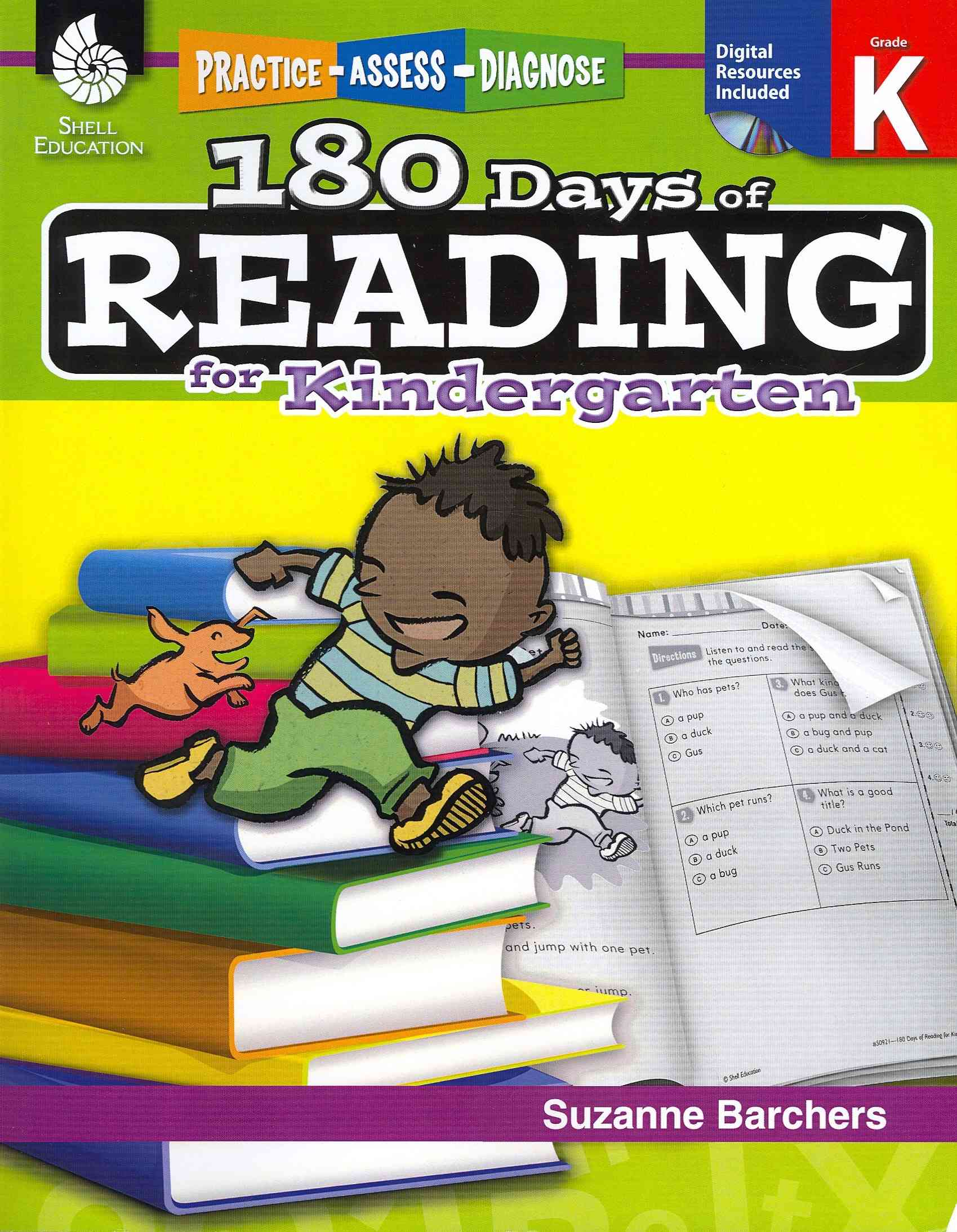 180 Days of Reading for Kindergarten By Barchers, Suzanne